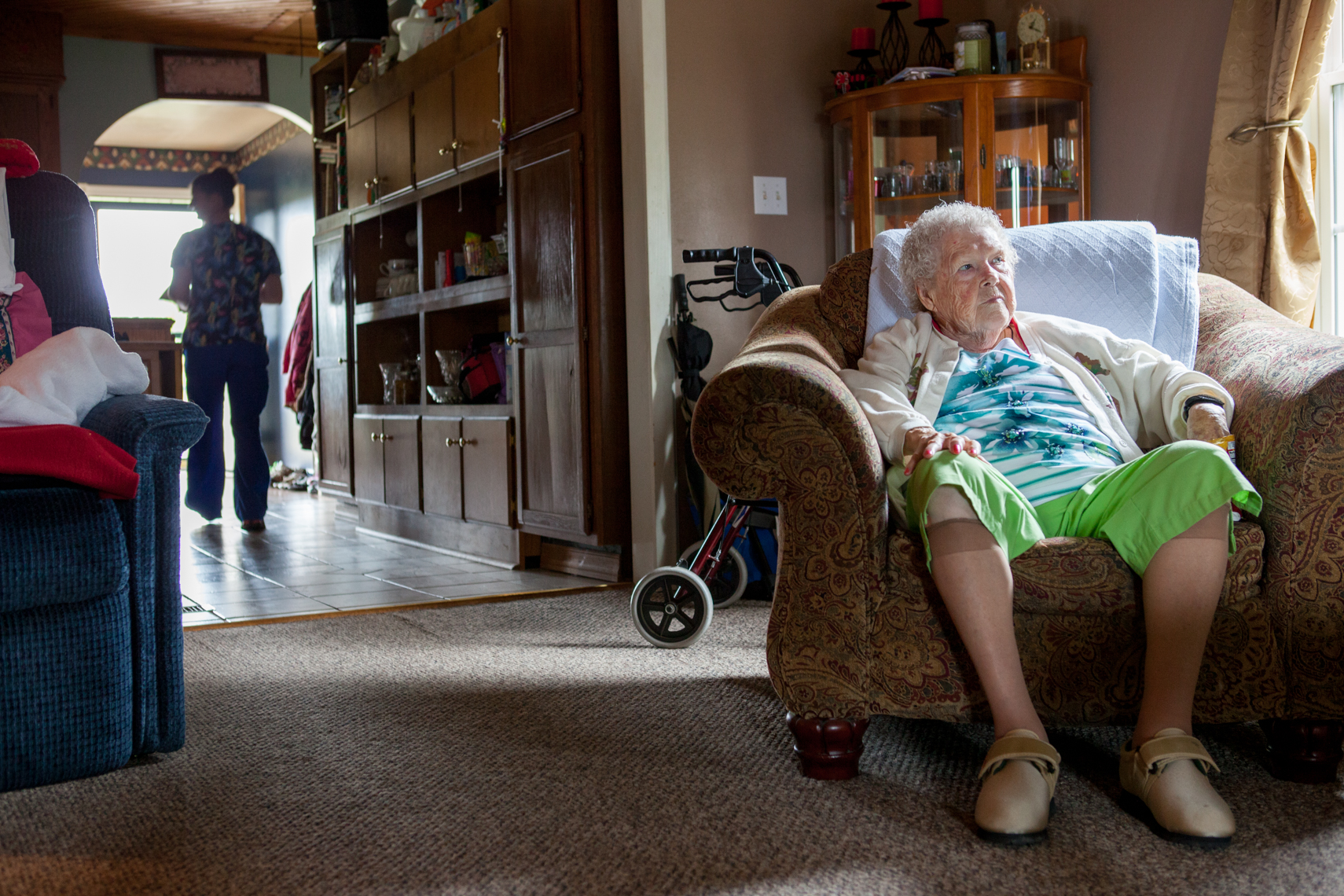 Elderly care policy changes  in Tennessee return Delores Powers to her family