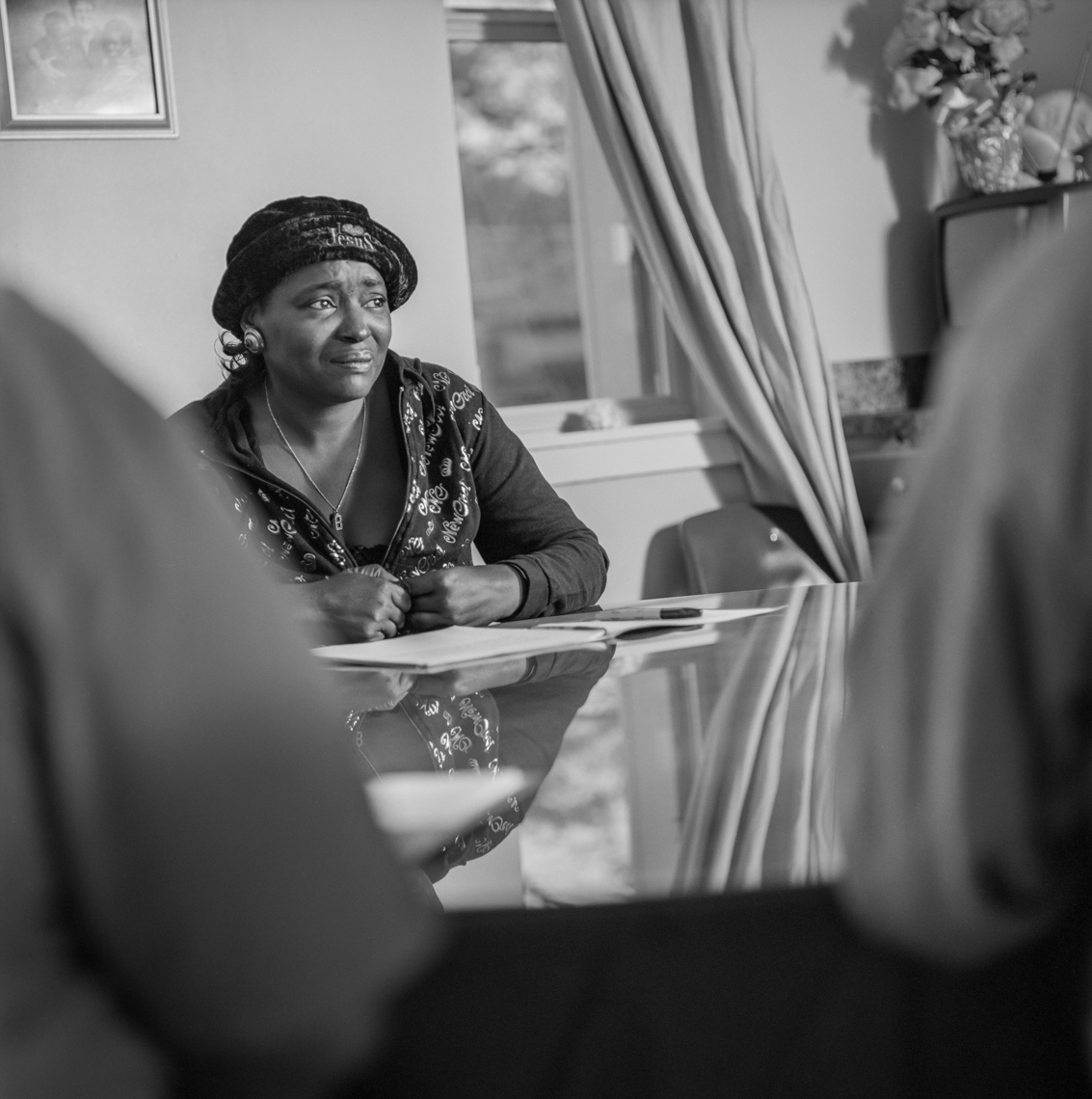 Women in Recovery from prostitution, sex trafficking, abuse, drug, addiction, portrait, resilience, authentic, B&W, film, Nashville, New Orleans, Chicago, Washington, D.C., Documentary and editorial portrait photographer photojournalist Kristina Krug